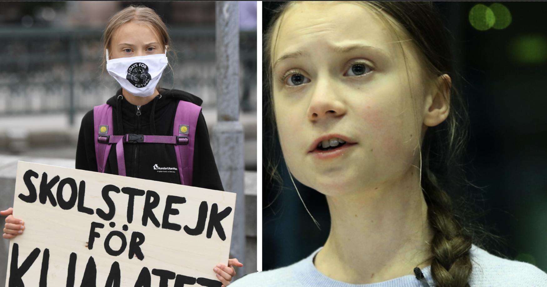 """Greta Thunbergs tårar i nya filmen """"Greta"""":"""