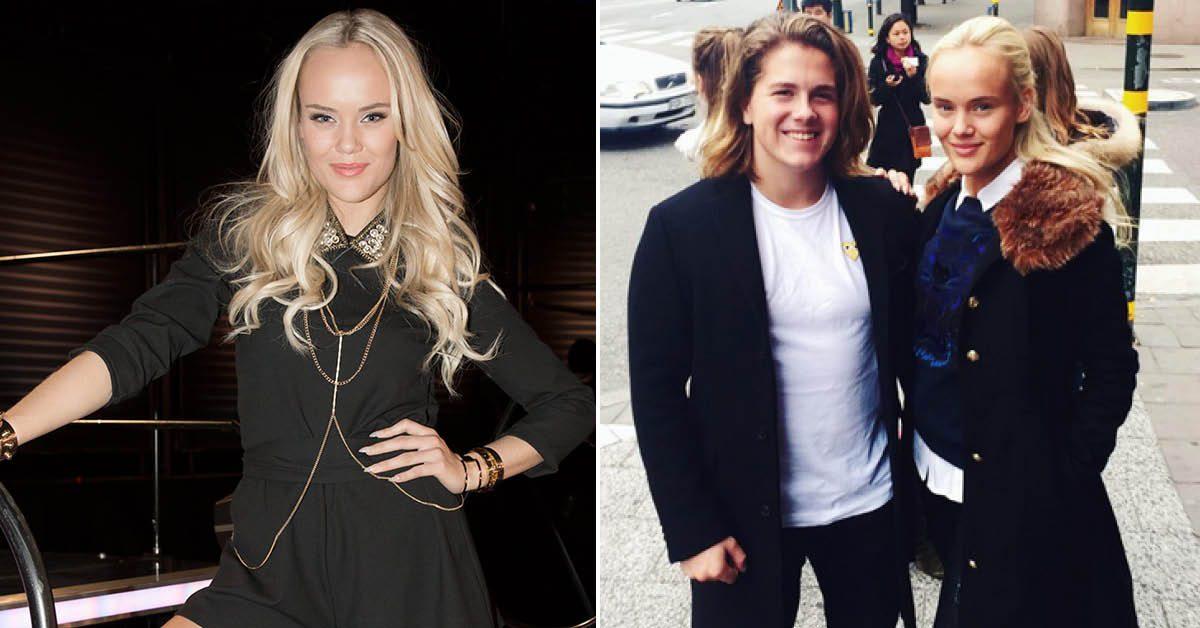 Idol-Amanda Winberg får inte sova i samma rum som pojkvännen Felix