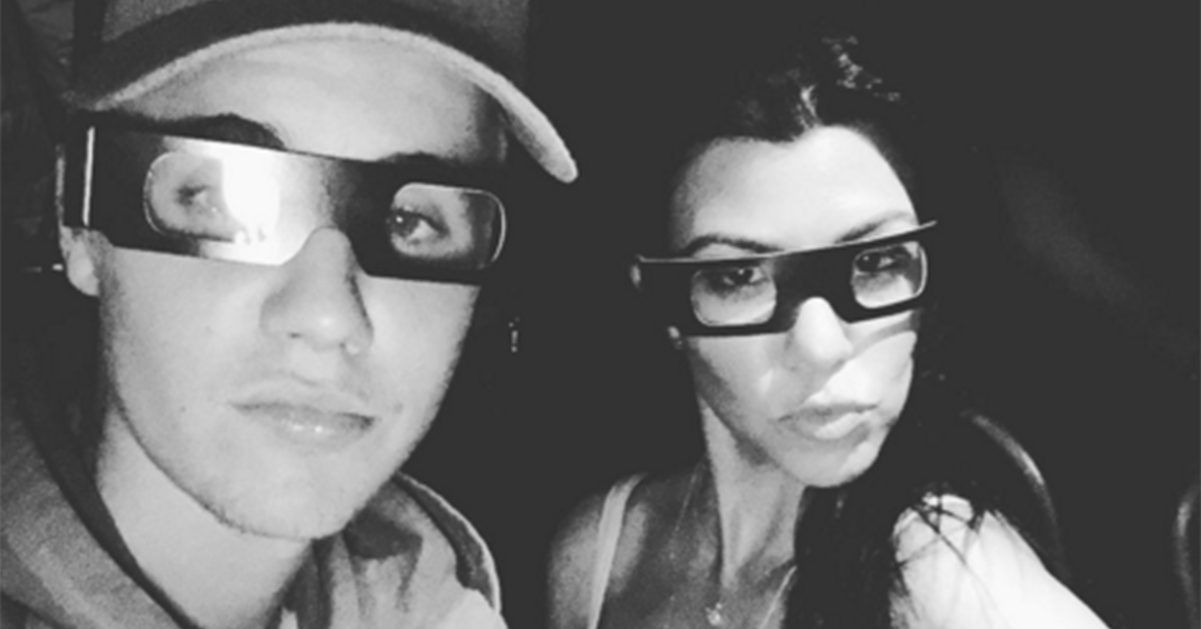 Kourtney Kardashian och Justin Bieber ryktas ha en romans: