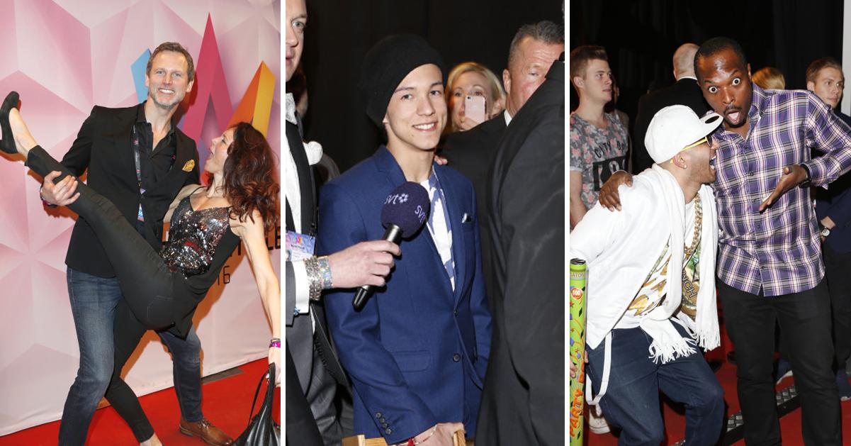 Alla ville fira Frans på Melodifestivalens galna efterfest