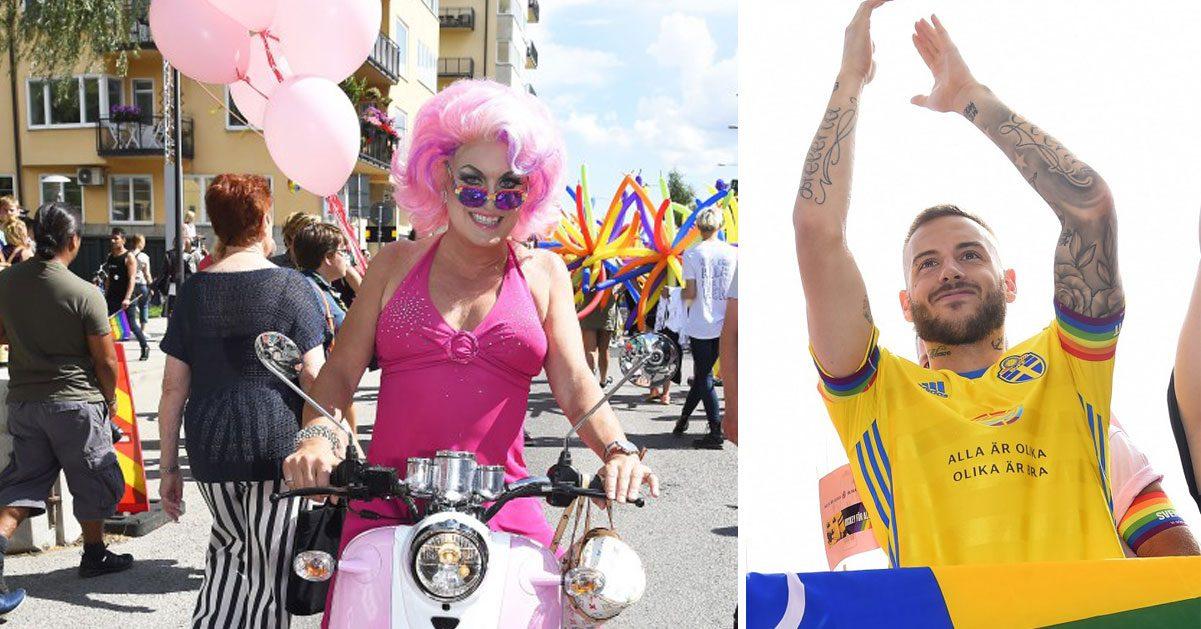 Prideparaden – ett kärlekståg i regnbågens alla färger