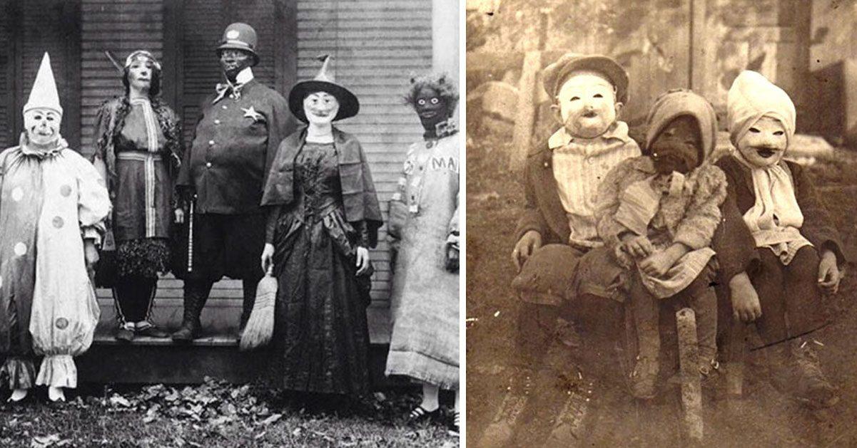 27 gamla bilder från Halloween som ger oss mardrömmar