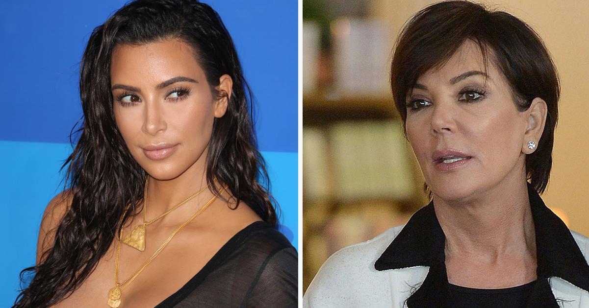 Kris Jenner i tårar över Kim: