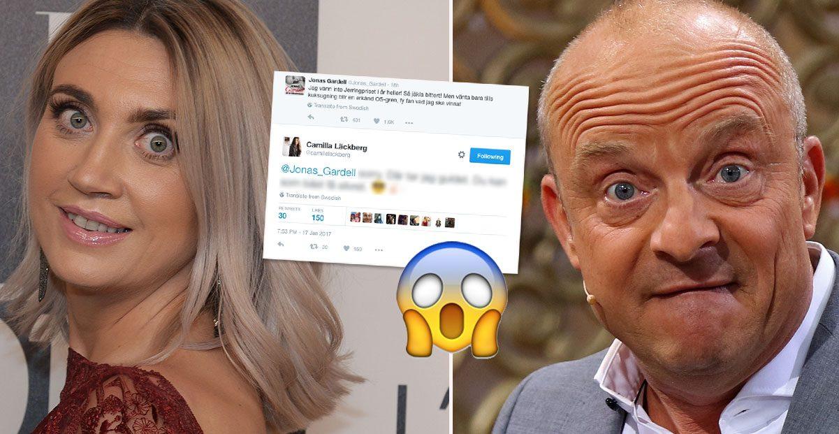Läckbergs grova sexskämt – med Jonas Gardell