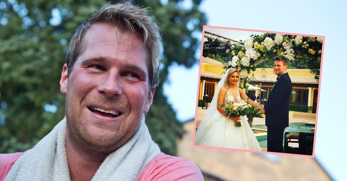 Basshunter har gift sig med sin Tina i Dubai