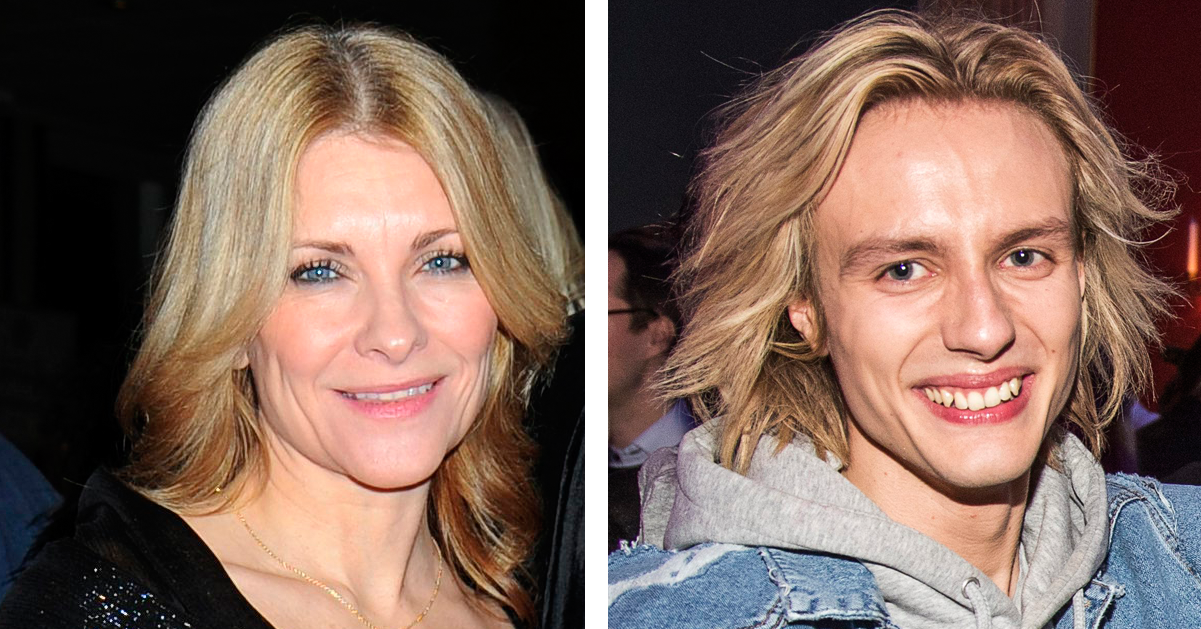 Cecilia, 48, är The FO&O-Oscars hemliga flickvän