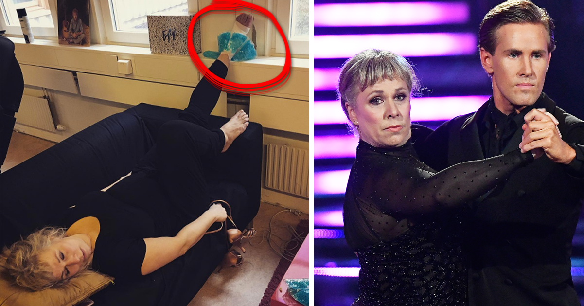 Stina Wollters panik efter skadan: