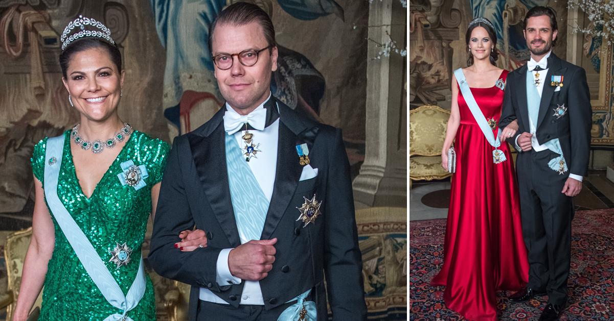 Gala på slottet – vi vet vad Victoria och Sofia hade på sig
