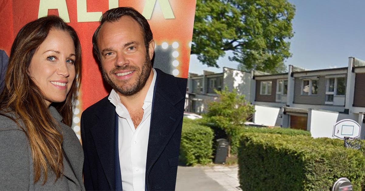 David Hellenius och Renée Nyberg säljer sitt lyxhus