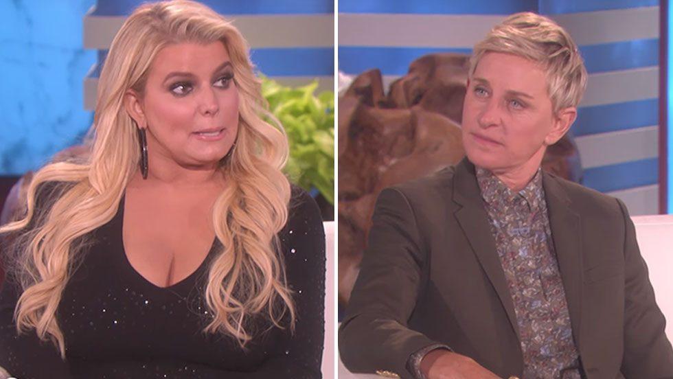 Simpson gästade DeGeneres – och det var en katastrof