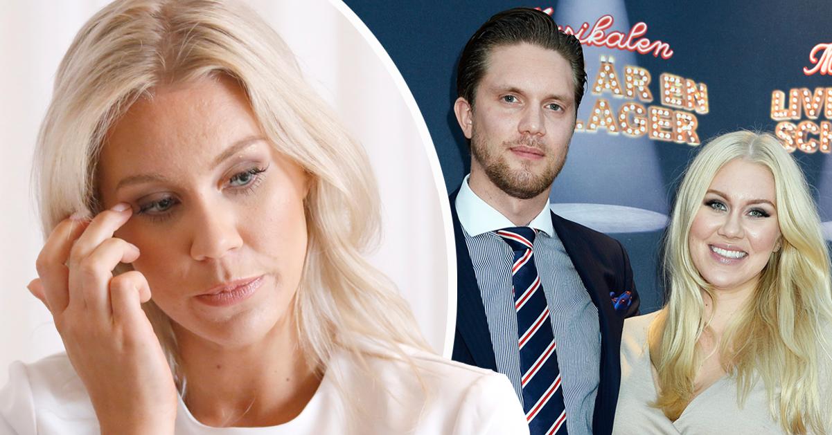 """Isabella Löwengrips tårar efter skilsmässan från Odd: """"Fick ingen luft"""""""