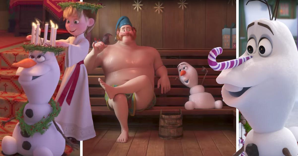 Se trailern för nya Frost-filmen om Olof – då släpps den på bio