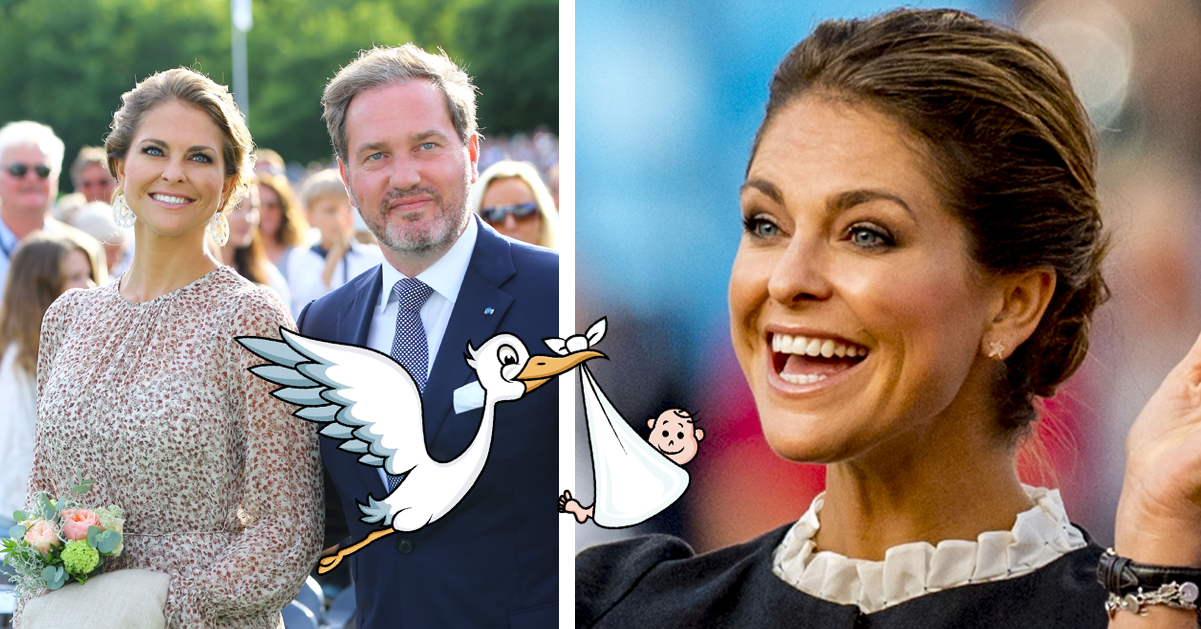 Prinsessan Madeleines bebislycka – Chris första ord om förlossningen: