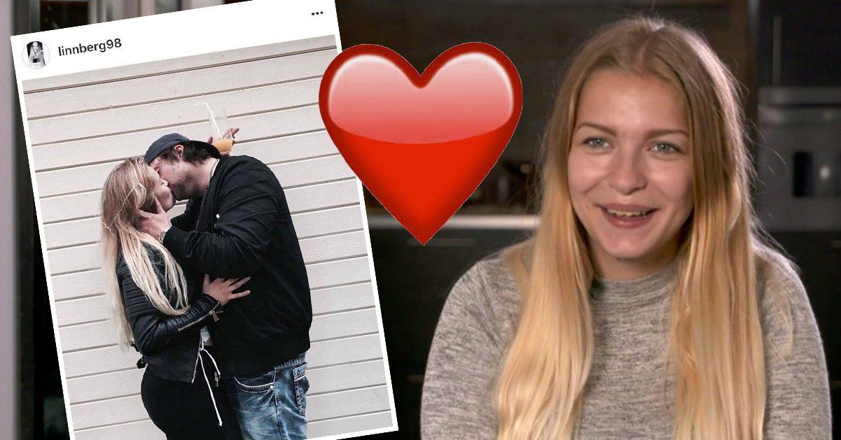 Efter tv-parets uppbrott – Linn har hittat kärleken