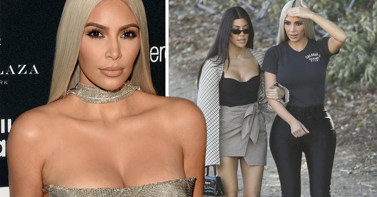Kim Kardashian tog till syrrans bröstmjölk – för att lindra sjukdomen