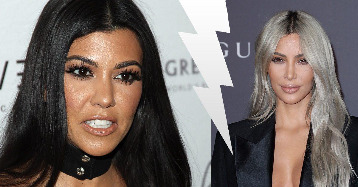 """Kourtney rasande på Kim: """"Inte roligt längre"""""""