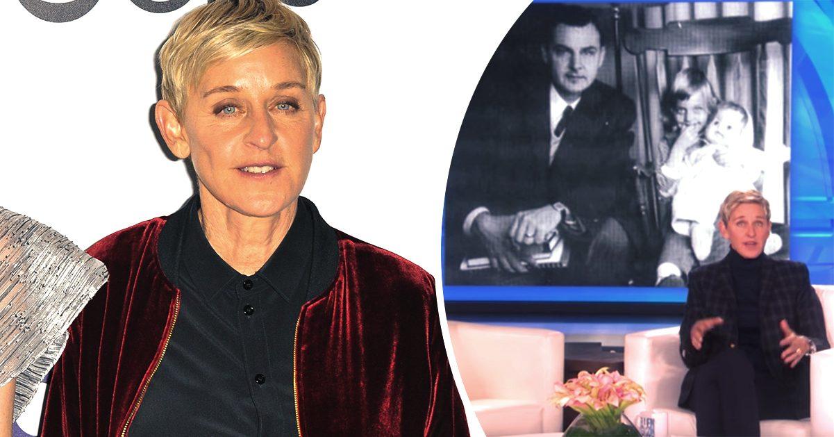 Ellen DeGeneres i sorg efter pappans död – hade ansträngd relation