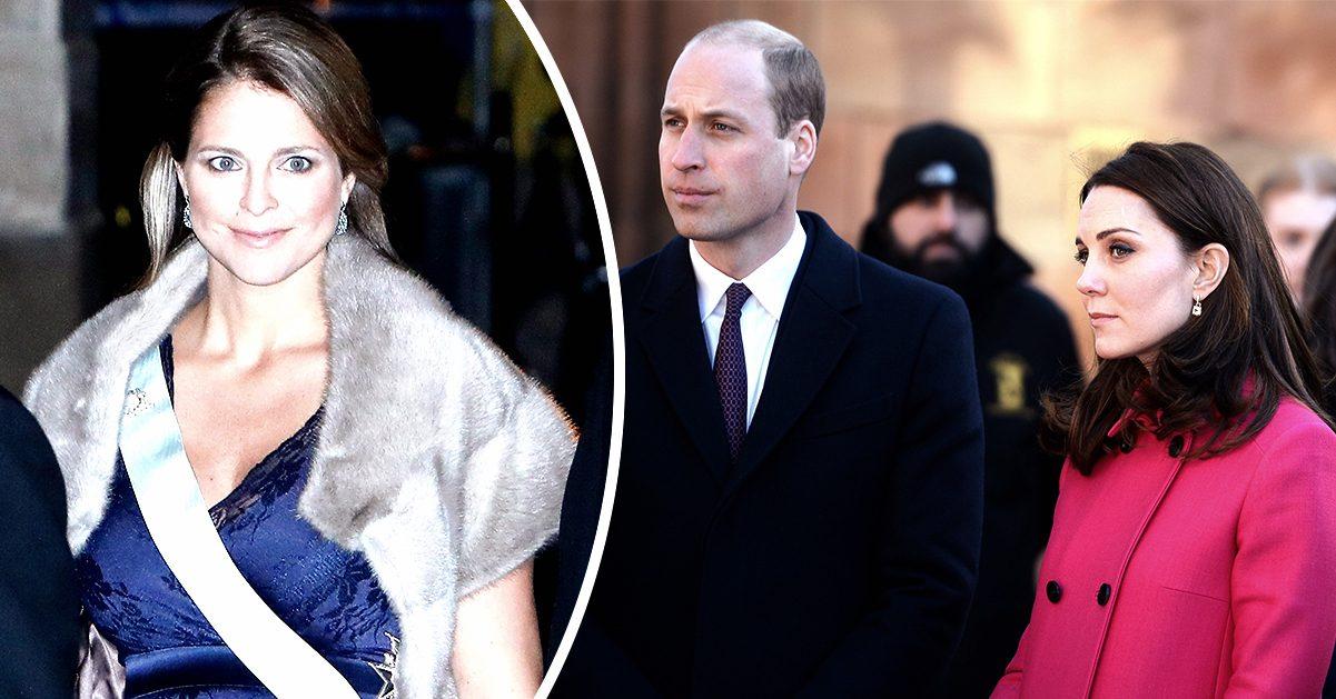 Hovet: Därför stoppas Madeleine från att träffa William och Kate