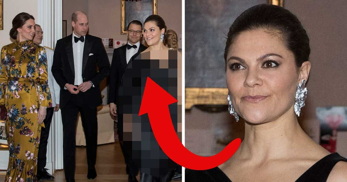 Hemligheten bakom Victorias klädchock – under middagen med William och Kate