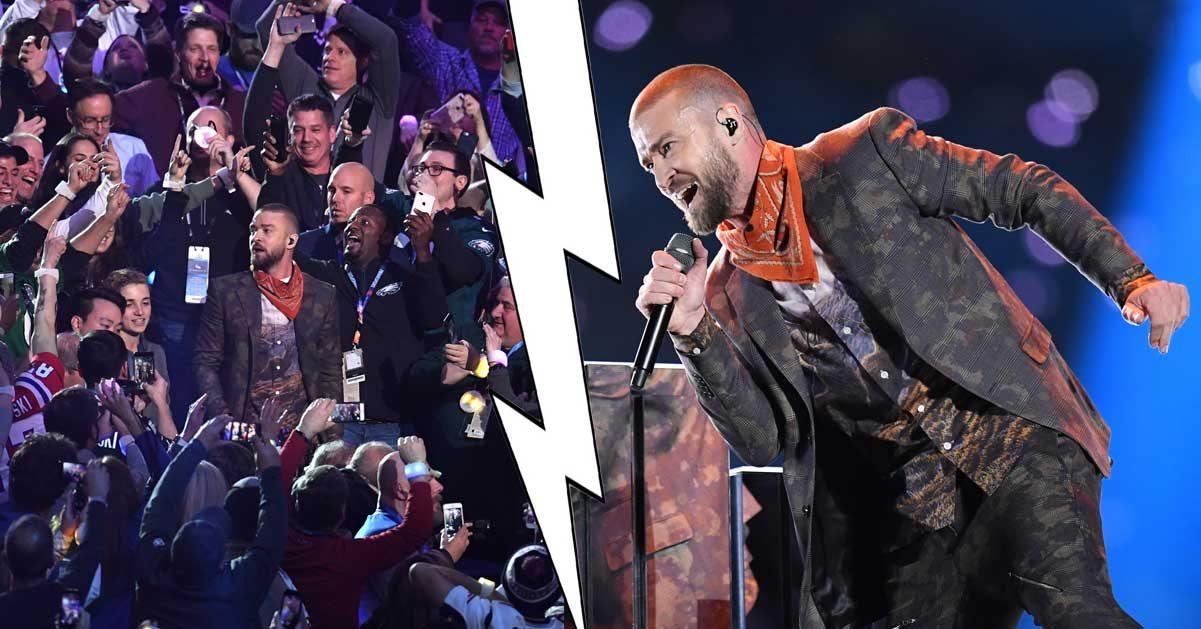 Fansen rasar mot Justin Timberlake – efter detaljerna i Super Bowl-showen