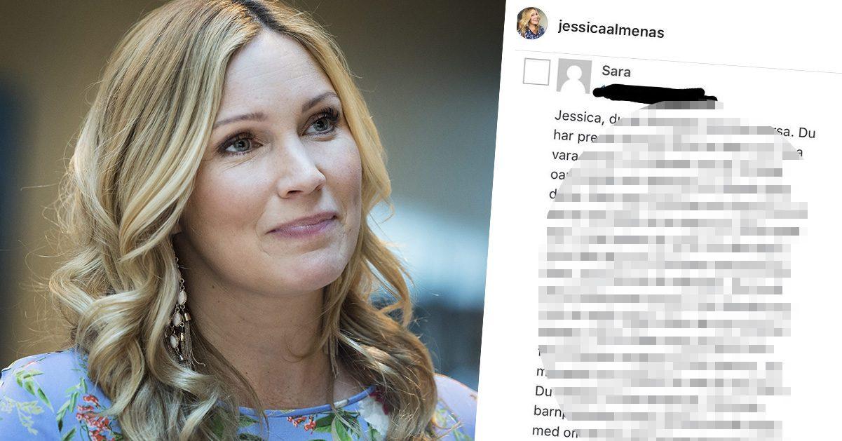 """Hårda kritiken mot Jessica Almenäs inför OS: """"Otroligt oansvarigt"""""""