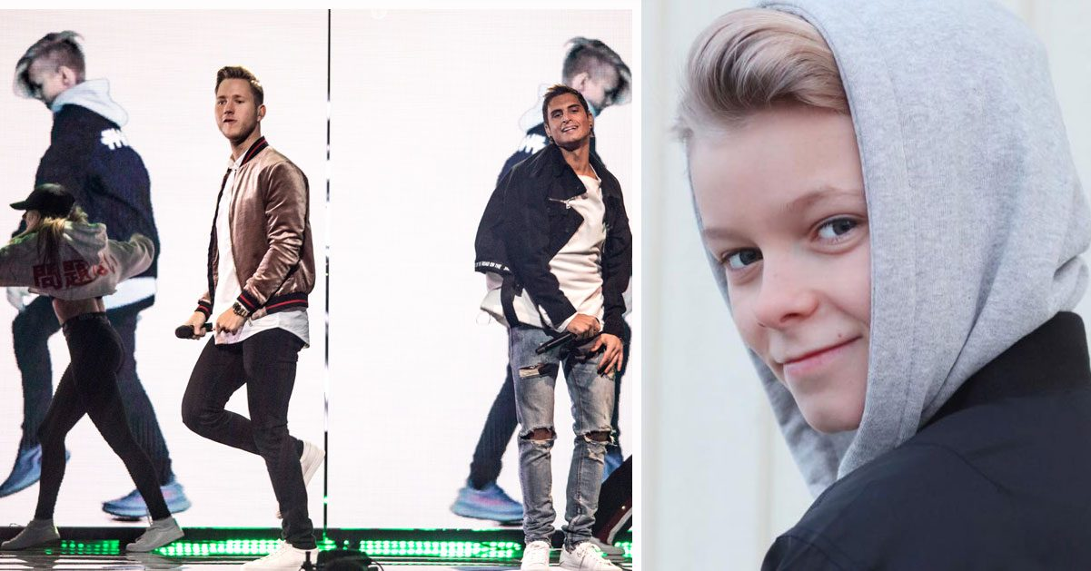 12-åriga Theo dansar med Samir & Viktor i Melodifestivalen