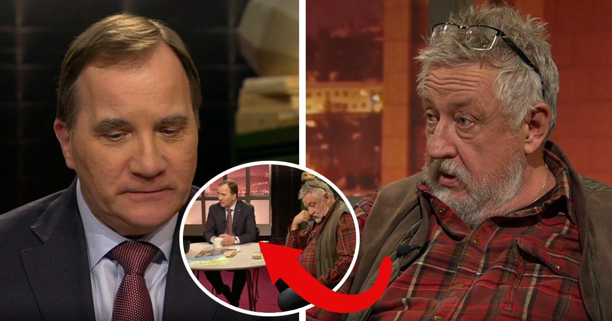 """Hemliga samtalet får Leif GW att dissa statsministern – i sändning: """"Respektlöst"""""""