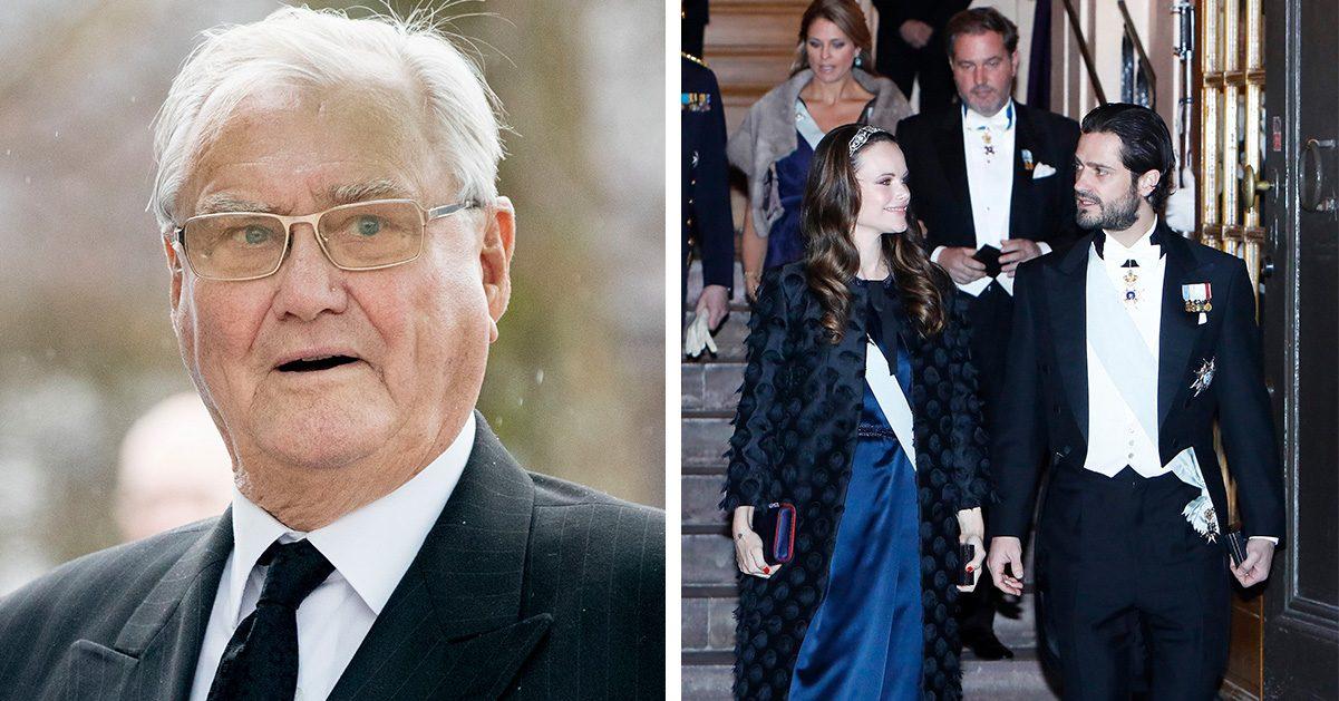 Därför stoppas svenska kungafamiljen från danska prinsens begravning