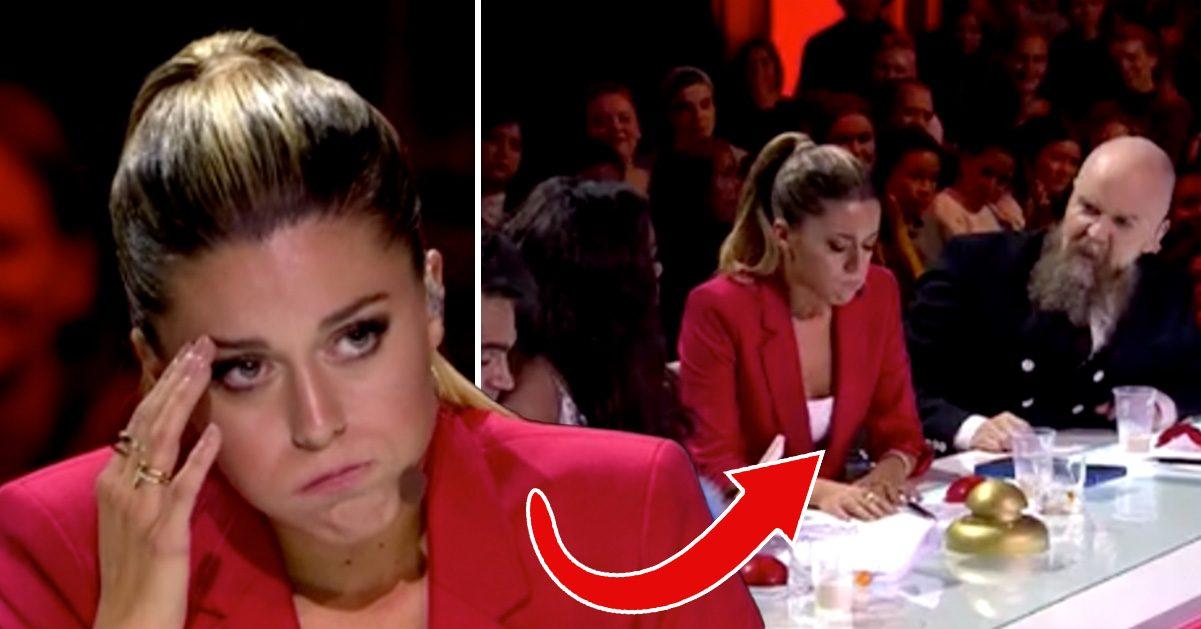 """Sanningen bakom Bianca Ingrossos starka reaktion i sändning: """"Spyr"""""""