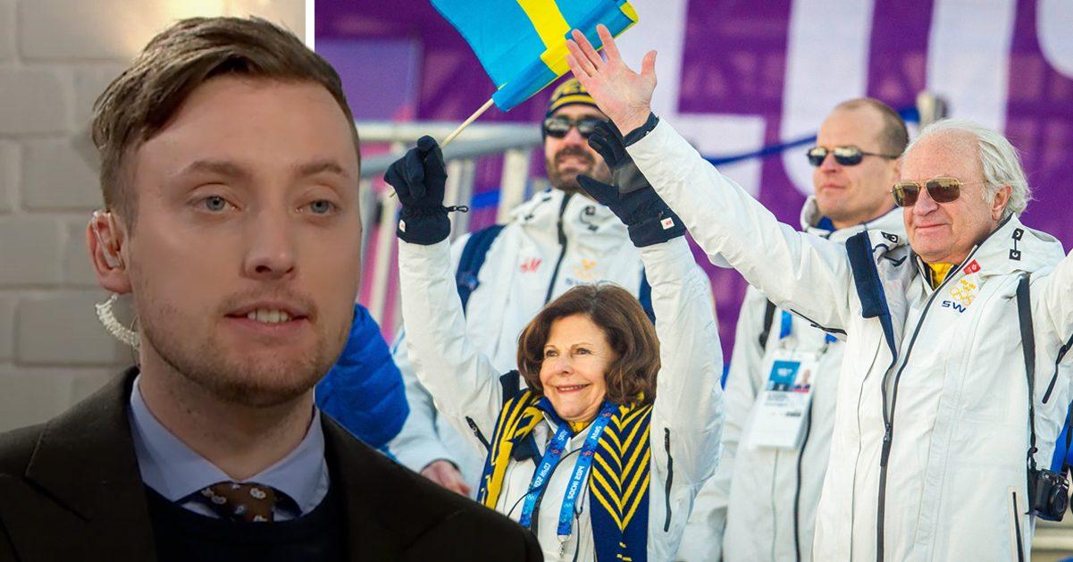 TV4-profilens hån mot kungen i direktsändning: