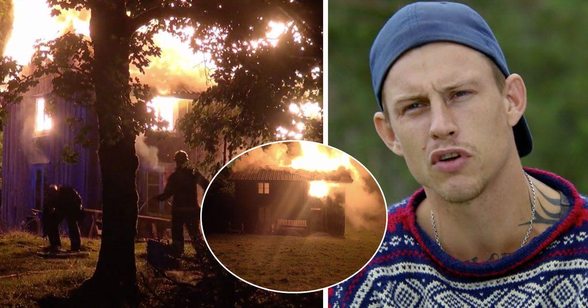 Deltagarna varnade TV4 – sedan brann hela huset ner: