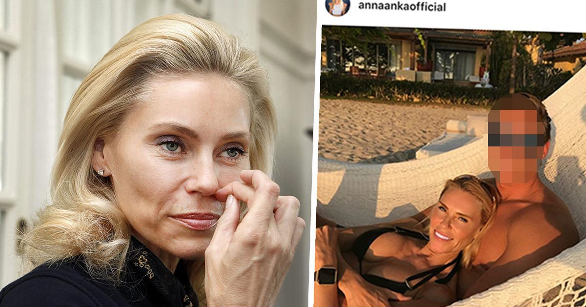 Anna Anka avslöjar: Därför tvingas jag hålla 20 år yngre pojkvännen hemlig