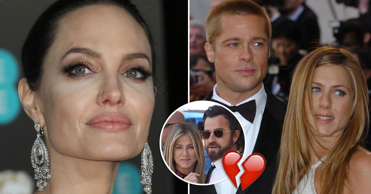 Angelina Jolies oväntade besked – efter Jennifer Anistons separation: