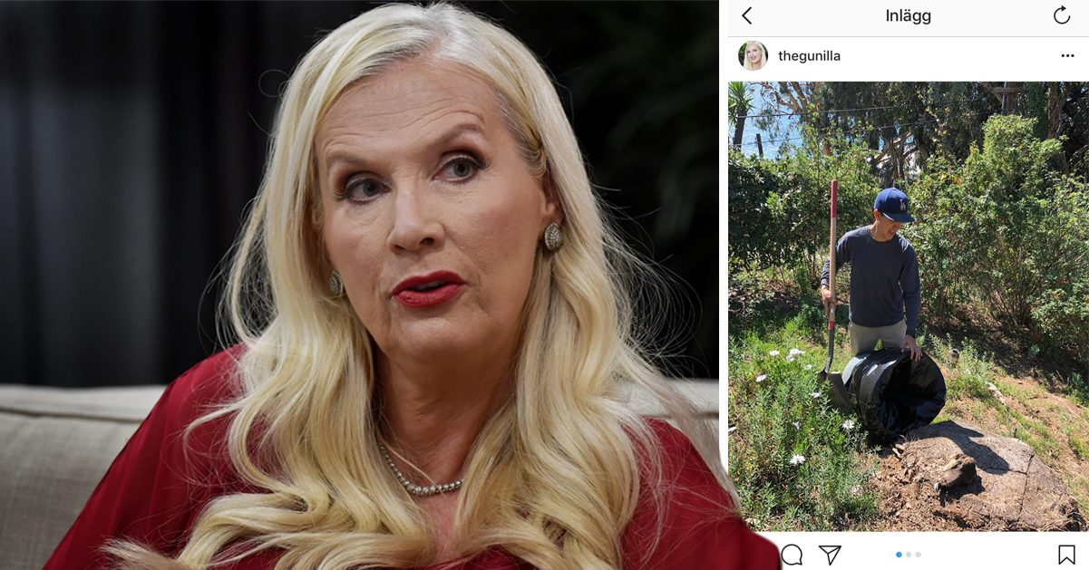 Gunilla Persson om skelettfyndet i trädgården: