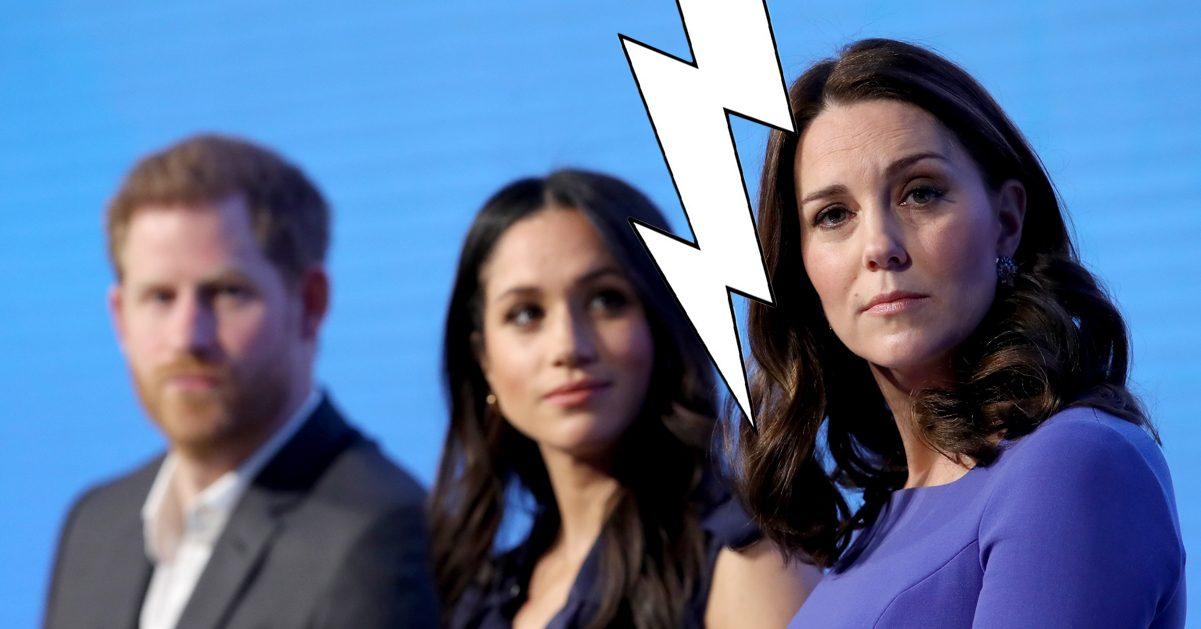Därför stoppas Kate Middleton från prins Harrys bröllop med Meghan Markle