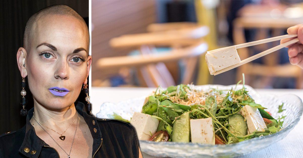 Sanna Bråding rasar efter artikel om vegankost: