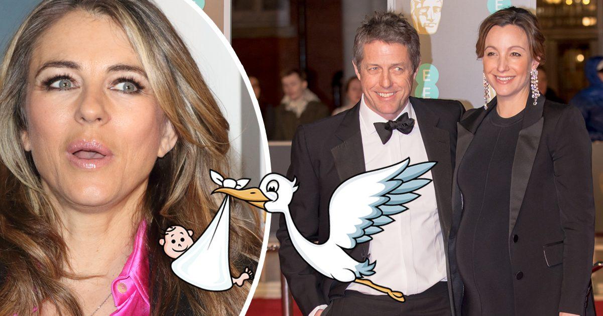 Exfruns tabbe avslöjade allt: Hugh Grant och svenska Anna har redan fått sitt barn