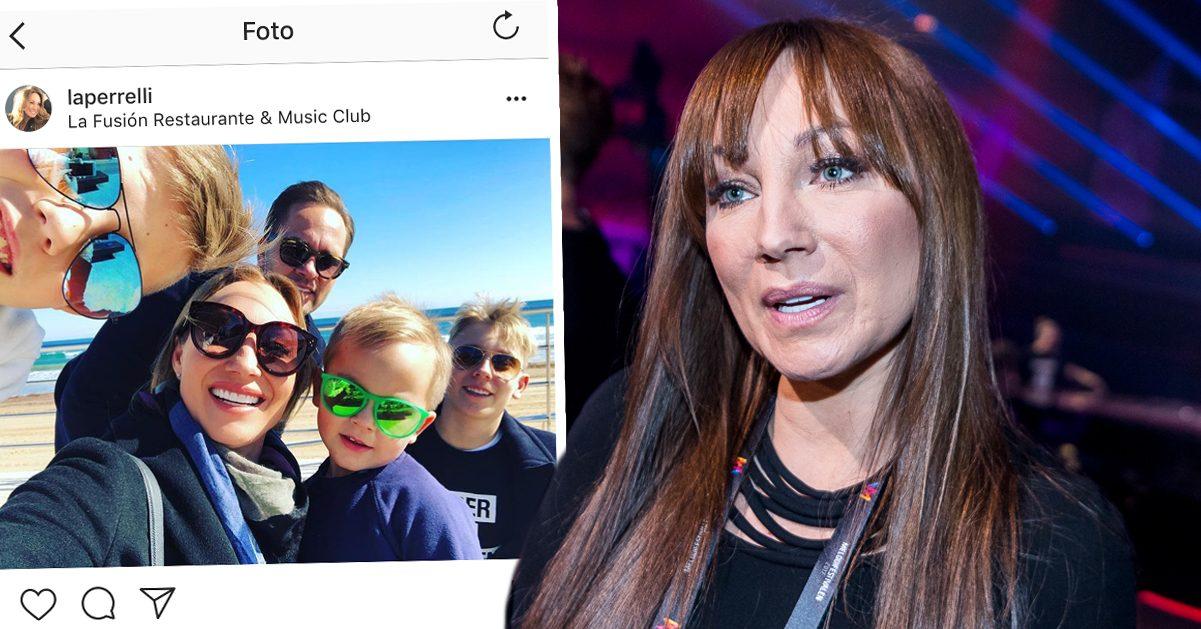 Charlotte Perrellis viktiga livsval med familjen efter dramat på flyget:
