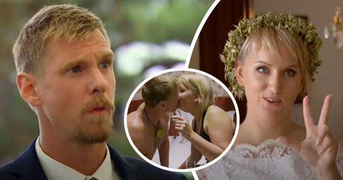 SVT-paret stoppade inspelningen efter bröllopet: