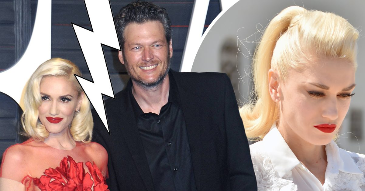 Uppgifter: Gwen Stefani dumpad av Blake Shelton efter svartsjukedrama
