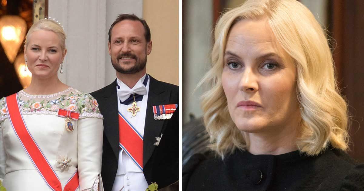 Kronprinsessan Mette-Marit mystiskt sjuk –tvingas till operation