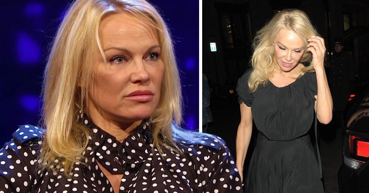 Pamela Anderson jagad av FBI: