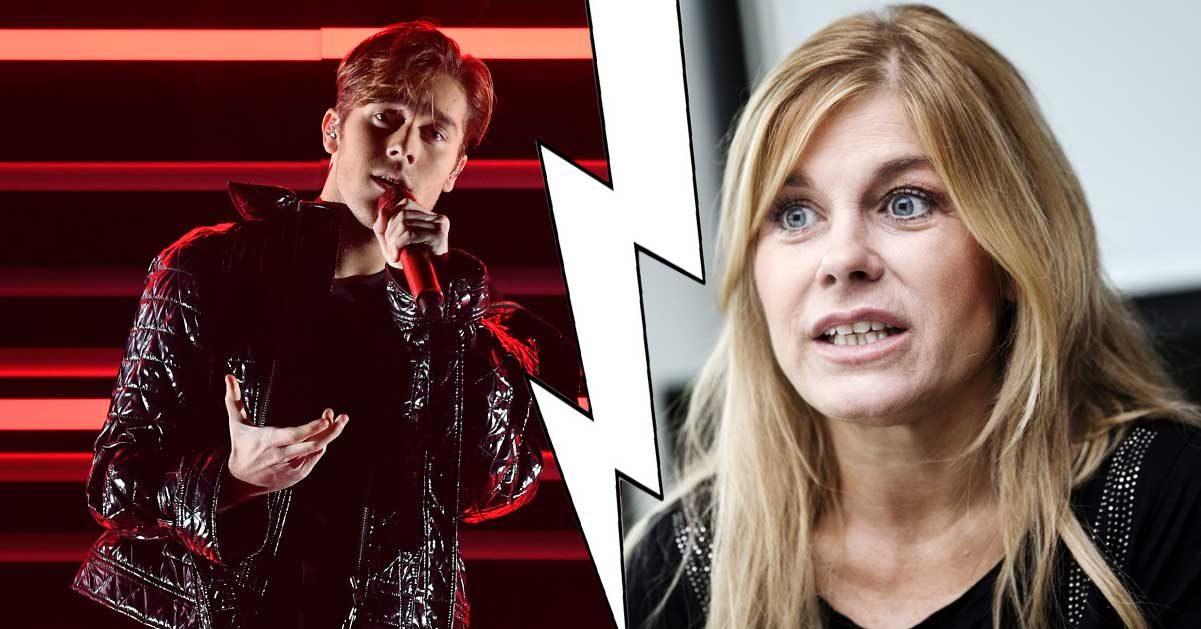 Pernilla Wahlgrens tabbe – därför stoppas hon från att se Benjamin i ESC
