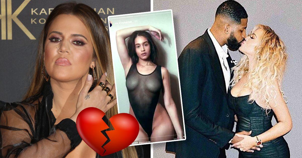 Gravidavslöjandet efter otroheten – Khloé Kardashian helt knäckt