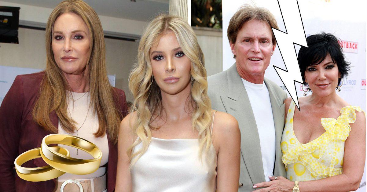 Efter Kris Jenner: Caitlyn gifter sig med 47 år yngre flickvännen