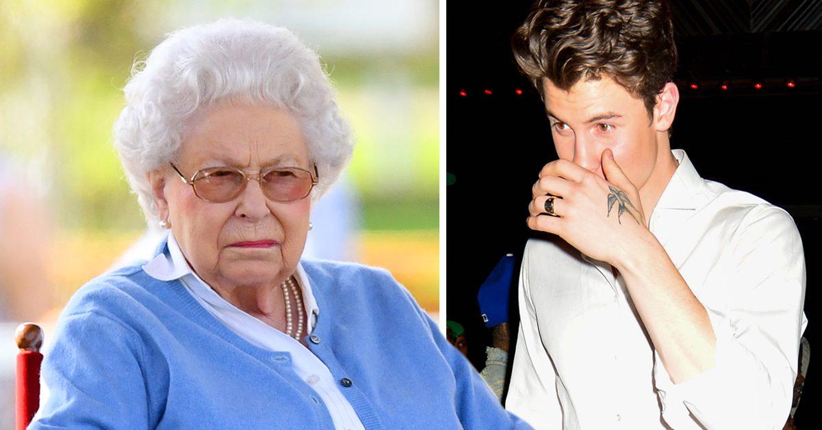 Shawn Mendes hade ett pinsamt möte med drottning Elizabeth under hennes 92-årsdag.