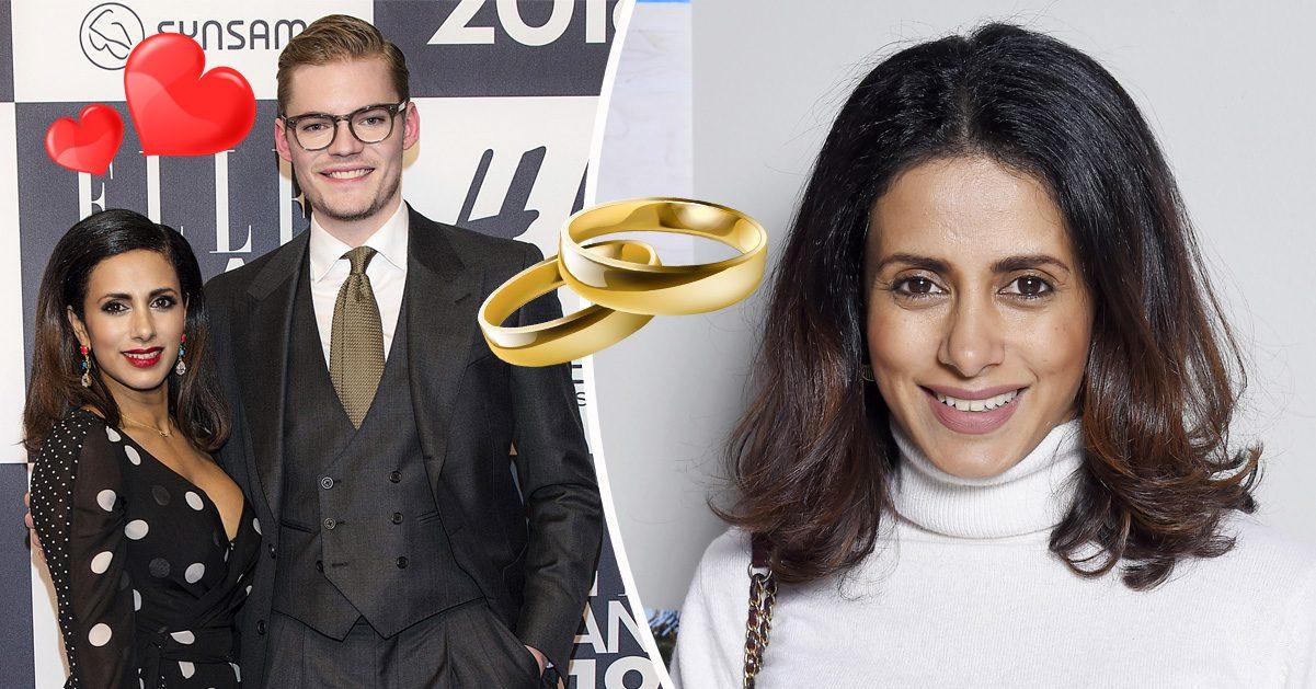 Anitha Schulman om bröllopsplanerna med Joel Åhlén-Nyström: