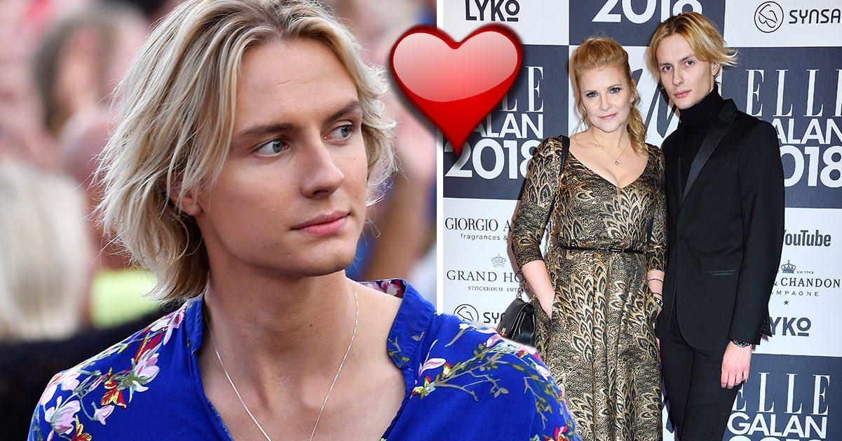 Oscar Enestad och flickvännen Cecilia, 49