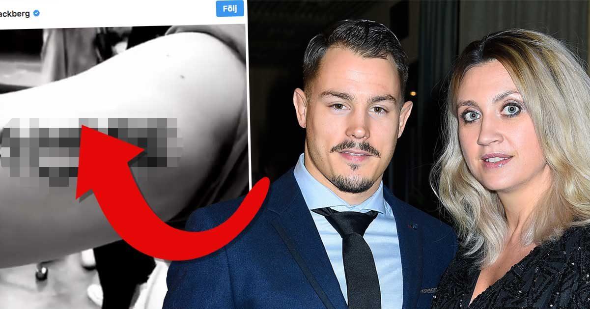 Läckbergs tatuering med Simon får följarna att tappa hakan: