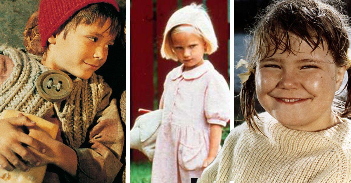 Astrid Lindgrens barnstjärnor – så ser våra favoriter ut idag